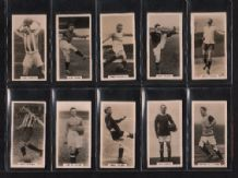 Famous Footballers. 1929 trade / cigarette cards set